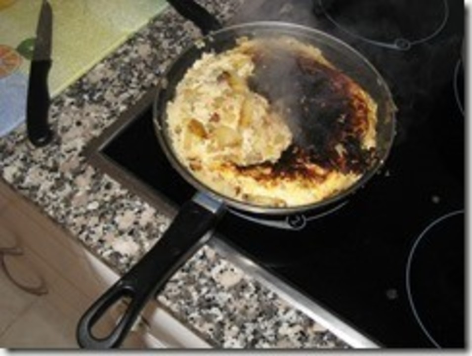 my-first-spanish-omelette-burned